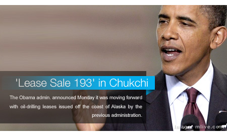 Obama Administration Moves Forward with 'Lease Sale 193' in Chukchi