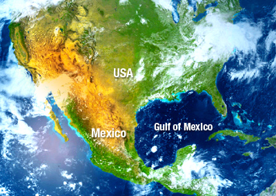 PHOTO: GOM US and MEXICO