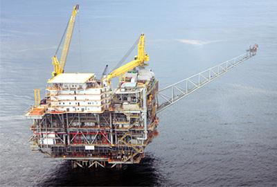 Tombua Landana Compliant Tower Offshore Angola