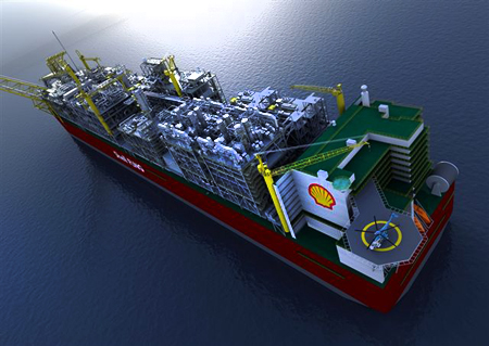 Shell to Set Record with Prelude Floating LNG Structure