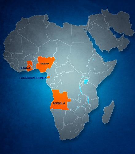 West Africa Regions